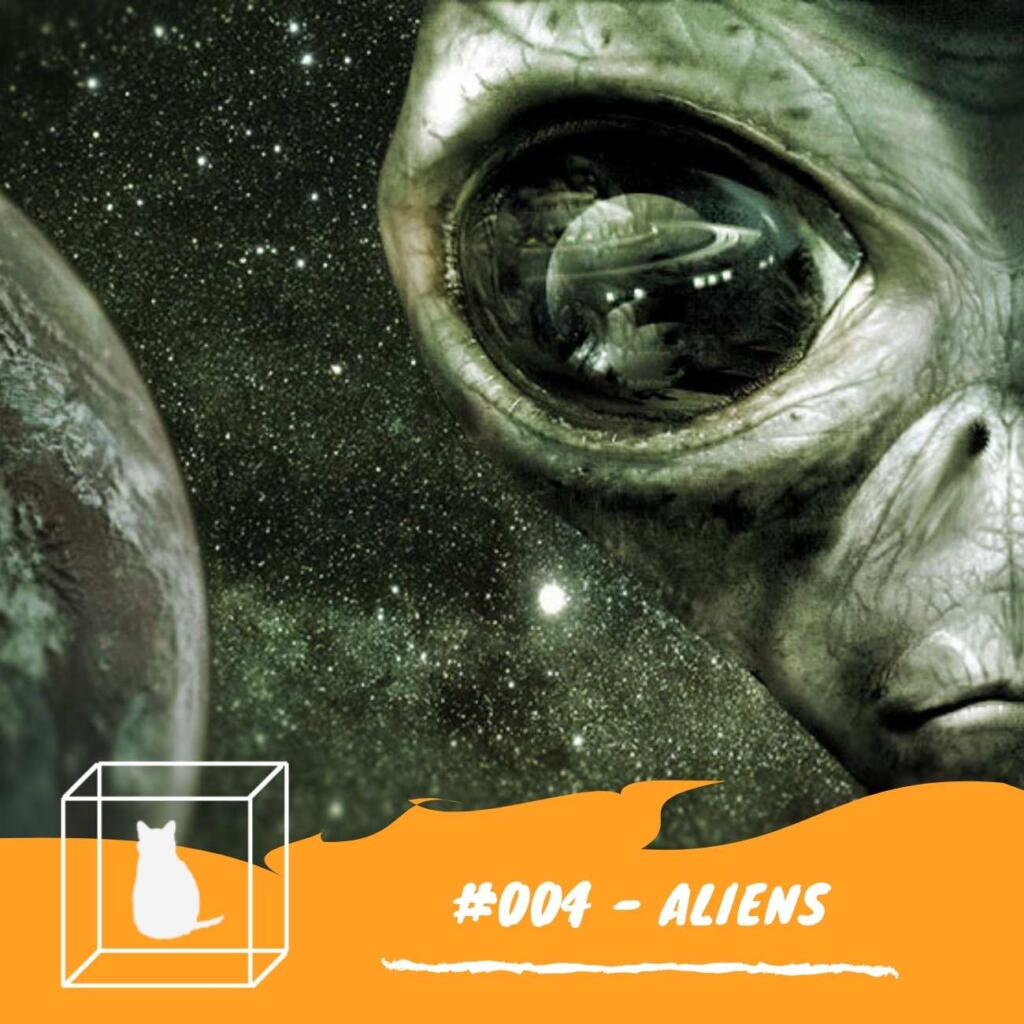 Bate papo sobre Aliens podecast caixinha quantica