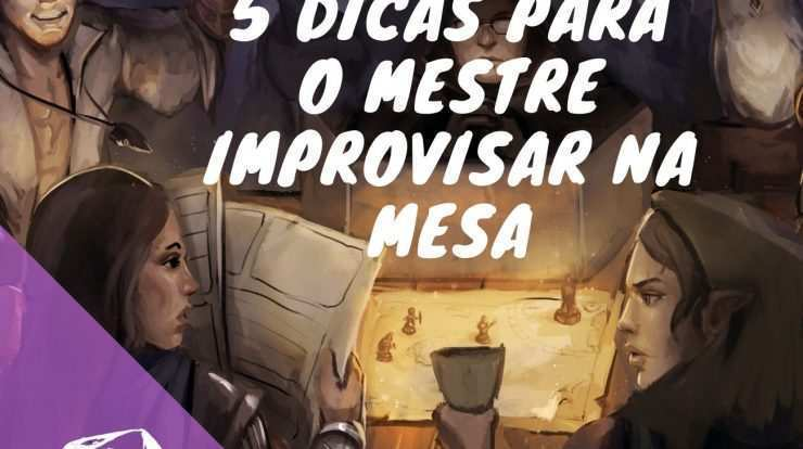 improvisar no rpg