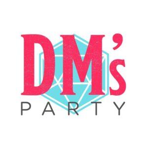logo do canal de RPG DM's Party no Youtube