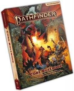 imagem do livro pathfinder 2 americano