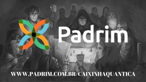 imagem de apadrinhamento no PADRIM para o caixinha quantica podcast geek de RPG