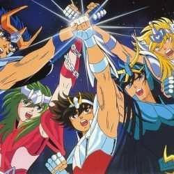 Imagem do Cavaleiros do Zodiaco melhores animes para assistir, programa do podcast caixinha quântica