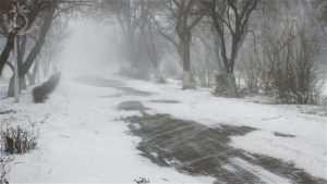 D&D 5ed: clima como desafio, imagem de neve no artigo de RPG
