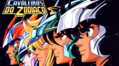 Imagem dos Cavaleiros do Zodiaco melhores animes para assistir, programa do podcast caixinha quântica