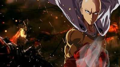 Imagem do One Punch Man melhores animes para assistir, programa do podcast caixinha quântica