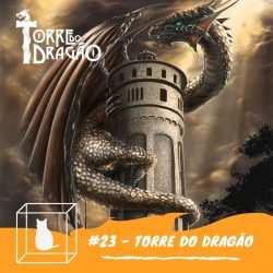arte do programa entrevista torre do dragão rpg de mesa profissional