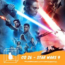 star wars 9 imagem da arte do programa 26 do podcast caixinha quântica